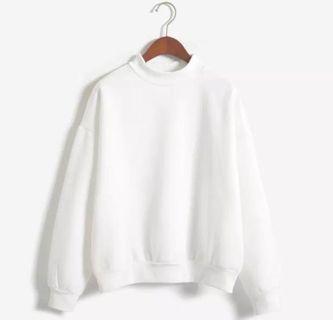 (NEW) White Sweatshirt