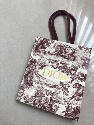 🚚 Dior2018聖誕限量款飾品小紙袋 值得收藏!!!含運