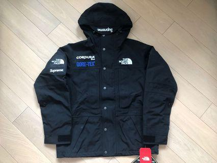 Supreme x TNF Expedition JKT BLACK S