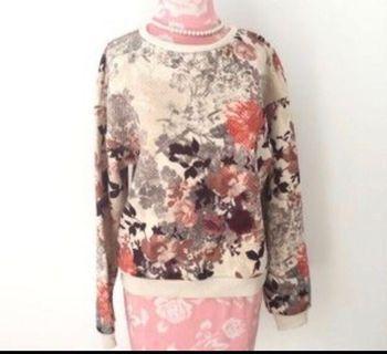 H&M Floral Sweatshirt