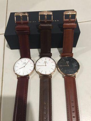 🚚 100% Authentic Daniel Wellington Watch