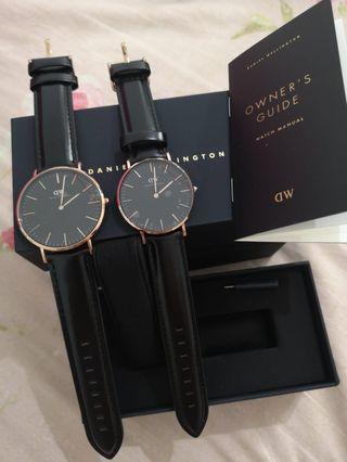 100% Authentic Daniel Wellington Couple Watch
