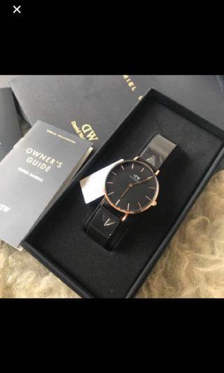 100% Authentic Daniel Wellington Watch