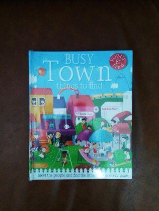 Busy Town Pop Up Book / Buku Pop Up Busy Town
