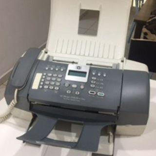 HP OfficeJet J3508 Black All-in-One with Fax Printer