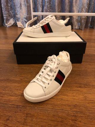 Gucci Sneakers (Black and Red)