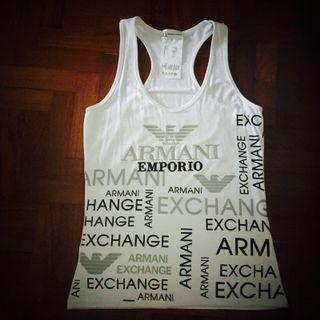 Armani Exchange Inspired Tank Top