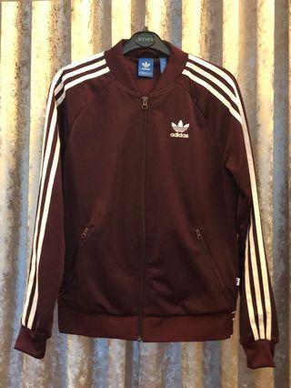 Adidas Maroon Jacket (Ladies)