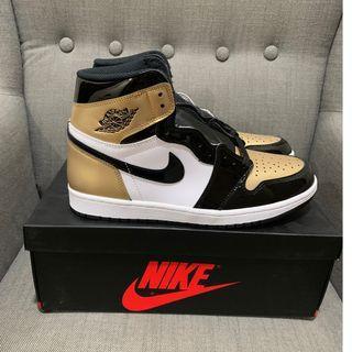 AJ 1 Gold Toe US10.5/UK9.5