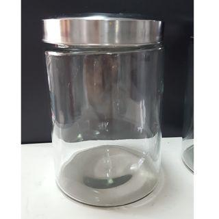 glass thick containers for house restaurant cafe cookie jar cracker jar big volume jar