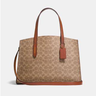 Authentic Coach 31210 Charlie Carryall Sling Crossbody Handbag