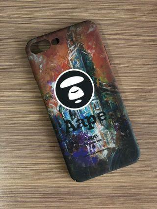Casing iPhone 7+ / 8+ Bahan Doff motif Aape