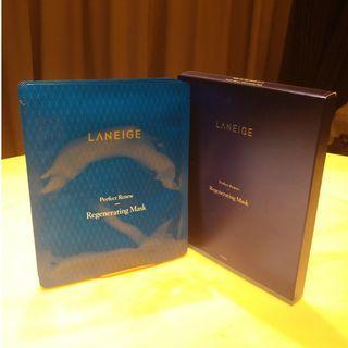 Laneige Perfect Renew Regenerating Mask - 1 box (5 pieces)