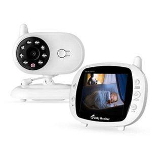 (E1187) EtekStorm 3.5'' Video Baby Monitor(2018 Newest Upgraded) with Digital Camera, Two Way Talk, Infrared Night Vision, 4 Lullabies, Temperature Monitoring, High Capacity Battery and Long Range. (sp850)