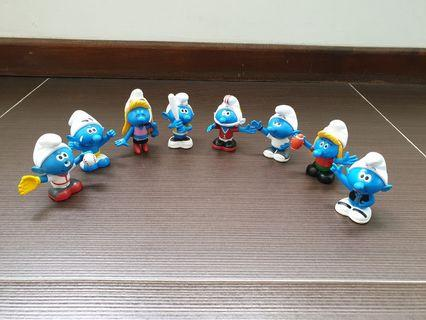 The Smurfs Figurine Collection