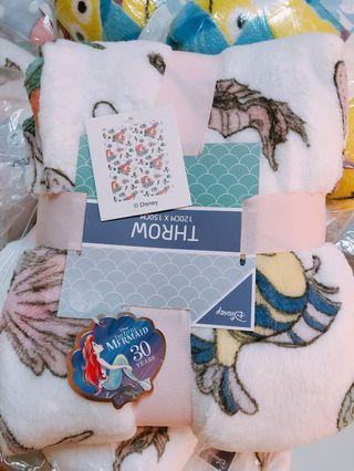 🚚 英國🇬🇧小美人魚30週年紀念毛毯