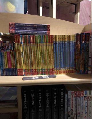 Manga and Books