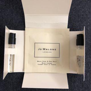 Jo Malone 香水試管1.5ml 淡香精 試用包 分享香 試管香 試用香 迷你香 小樣 潤膚霜 香水 小禮盒