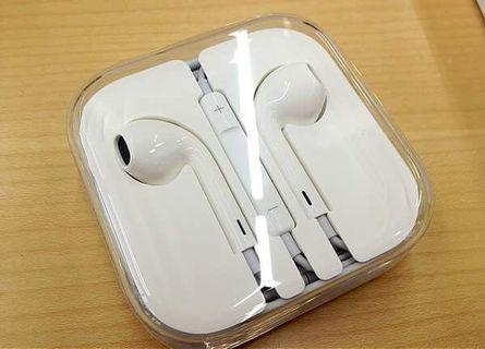 Iphone 6s 原廠圓頭耳機 Original Apple Earpods 3.5mm Headset