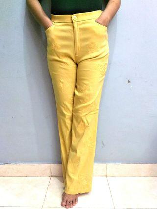 Yellow Long Pants