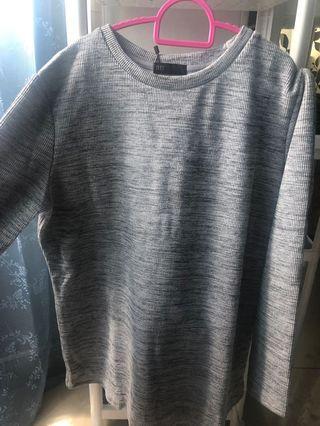 Grey sweater/top