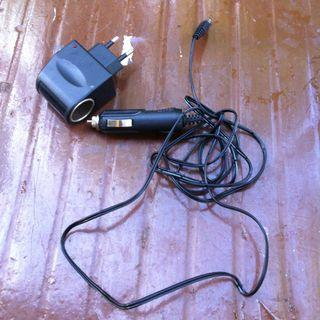 Power adaptor for car cigarette lighter socket. In good working condition.
