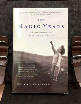 《Preloved Paperback + 50th Anniversary Edition + How Children Perceive And Adapt To Their World》Salma H. Fraiberg - THE MAGIC YEARS : Understanding and Handling the Problems of Early Childhood (JILL)