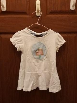 🚚 麗嬰房3歲長版上衣