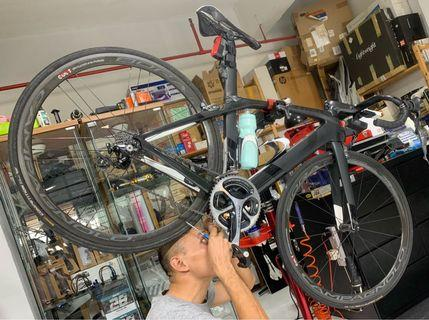 Trek Madone 9.9 full bike and wheel set, power meter and heaps of accessories / BARGAIN!