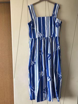🚚 藍色洋裝