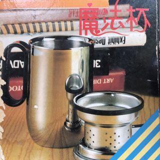 魔法杯 茶杯 泡茶 不鏽鋼杯 340cc