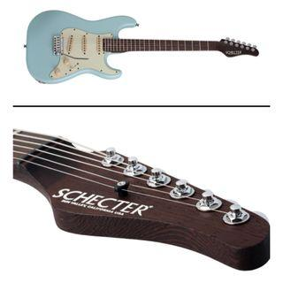 ** PRE ORDER !! ** SCHECTER USA CUSTOM SHOP NICK JOHNSTON SIGNATURE WEMBLEY ATOMIC FROST