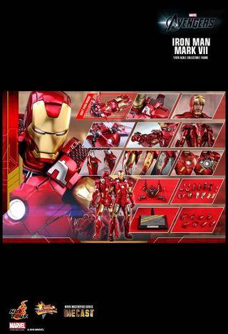 *PO* Hot Toys - MMS500D27 - The Avengers - Iron Man Mark VII (Diecast) Mark 7 The 1/6th scale Iron Man Mark VII Collectible Figure
