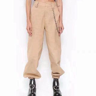 Inspired I AM GIA festival casual pants. Green, black, khaki