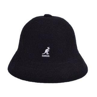 Kangol 經典鐘形帽全新 黑色