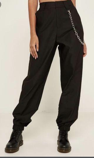I AM GIA COBAIN BLACK PANTS