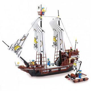 Black Pearl 海盜黑珍珠號積木
