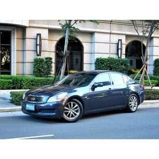 市面稀有車系 INFINITI G35  正一手車 全原廠保養全車原鈑件附SAVE認證車資料齊全 超大車身配重54:46 擁有311匹大馬力