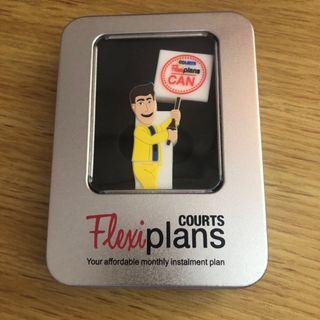 Courts Flexiplans 4GB Thumb Drive