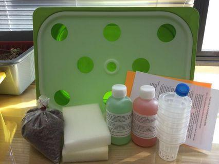 Hydroponics kit set : Enhanced