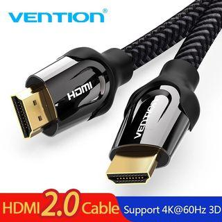 In Stock: Brand New 2m HDMI Cable Zinc Alloy Shell Nylon Jacket