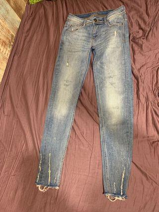 Zara (Ankle) 9分牛仔褲