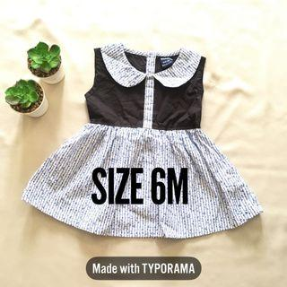 Baby Dress Baju Kembang
