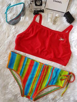Authentic Preloved Speed + Ola Chica Swimwear Swimsuit Medium
