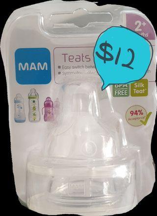 New MAM bottle teat