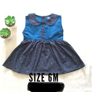 Baby Dress Navy Blue