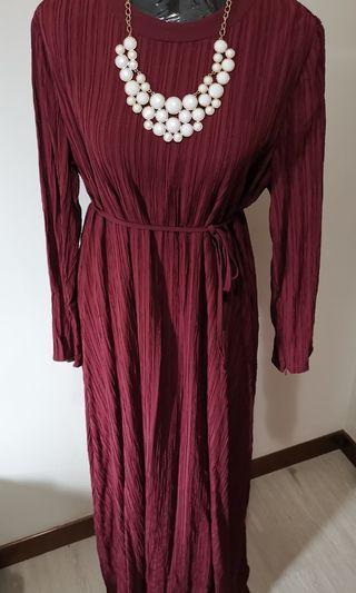 Poplook Pleated Dress