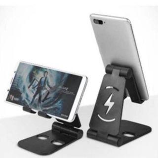 現貨) 桌上型 折疊手機支架 手機配件 手機座 懶人支架 追劇神器 網紅必備