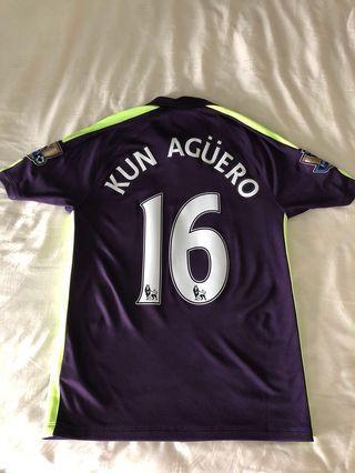 Manchester City 2014-15 Third Kit Kun Aguero