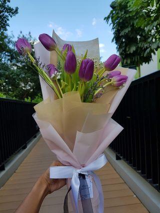 Tulips Bouquet | Fresh Flowers Bouquet | Mother's Day Bouquet #07